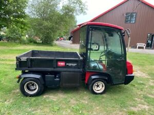 2014 Toro Workman Hdx g 4x4 Utility Vehicle With Fully Enclosed Heated Cab