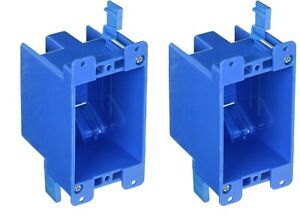 2 Pack B114r 1 gang Old Work 14 Cu In Switch Outlet Electrical Box