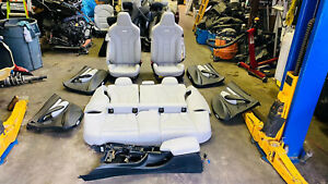 15 18 Bmw F80 M3 Complete Interior Seats Panels Opal White