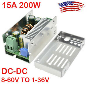 Dc dc 8 60v To1 36v 15a 200w Synchronous Buck Converter Step down Power Module
