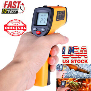 Infrared Thermometer Non contact Digital Laser Infrared Temperature Gun Hot