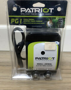 Patriot Intelligent Electric Fence Charger Pg1 Small Animal
