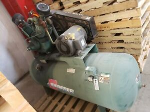 used Champion 10hp Piston Two Stage Reciprocating Air Compressor