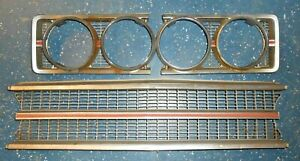 Complete 1969 Ford Torino Ranchero Gt Grille Headlight Bezels And Center
