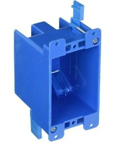 1 Pack B114r 1g 1 gang Old Work 14 Cubic Inch Switch Outlet Electrical Box