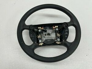 1999 2004 Oem Ford Mustang Charcoal Leather Gt Steering Wheel 99 04 t1767