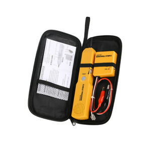Rj11 Network Phone Telephone Cable Tester Toner Wire Tracer Diagnose Tone Tool