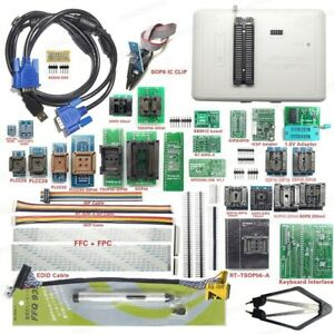 Rt809h Universal Bios Usb Nand Flash Programmer With 51 Adapters Date Recovery