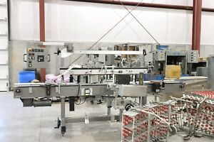 Universal Systems Bottle Labeling Machine
