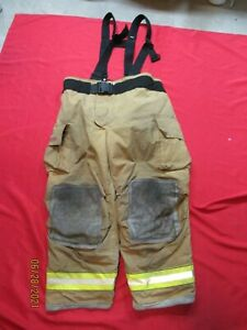 Mfg 2007 Globe Gxtreme 50 X 30 Firefighter Turnout Bunker Pants Fire Rescue
