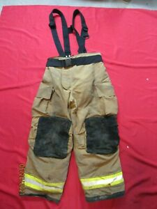 Mfg 2011 Globe Gxtreme 42 X 30 Firefighter Turnout Bunker Pants Fire Rescue