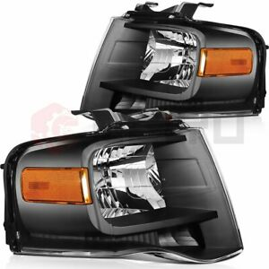 For Ford Expedition 2007 2014 Replacement Headlights Driver Passenger Side