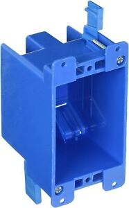 B114r 1g 1 gang Old Work Box 14 Cubic Inch Switch Outlet Electrical Box Carlon