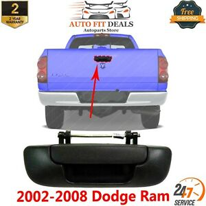 Tailgate Handle Textured Black For 2002 2008 Dodge Ram 1500 2003 09 2500 3500