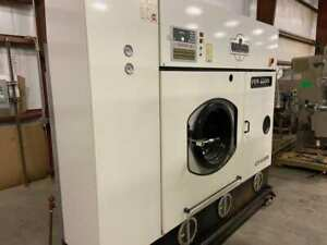Used Union L55 U2000 Self Contained Drycleaning Dry Clean Machine W manual