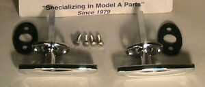 1928 1931 Model A Ford Roadster Road Pu Outside Door Handle Set Also 1933 34