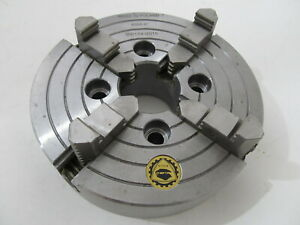 Bison 4306 6 4 Jaw 6 Independent Lathe Chuck 7 850 0600