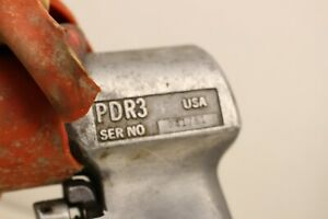 Vtg Snap On Air Drill Pdr3