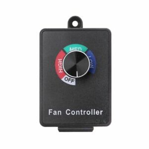 Variable Voltage Speed Control Ac 120v 15a Fan Electric Motor Rheostat Governor