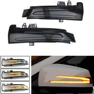 Sequential Led Side Mirror Turn Signal Light For Mercedes Benz C E S Cla Cls Glk