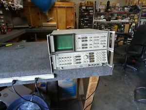 Hp Spectrum Analyzer 8566b Opt 85660b Display 85662a Sold As is
