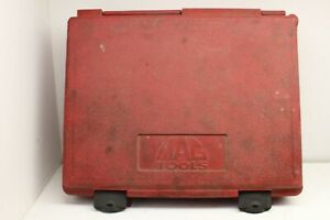 Mac Tools Long Barrel Pneumatic Air Hammer Case Red Black Case Only