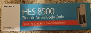 Hes 8500 12 24d 630 Electric Door Strike Body Fire Rated Compact Stainlesssteel