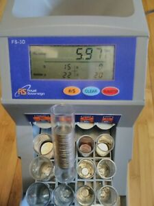 Local Pickup Only Royal Sovereign Digital Coin Counter Fs 3d Sorter With Tubes