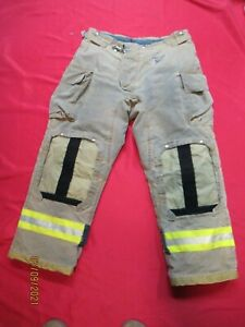 Mfg 2011 Morning Pride 38 X 31 Fire Fighter Turnout Pants Bunker Gear Rescue Tow