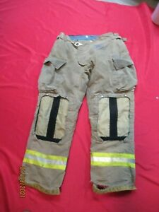 Mfg 2012 Morning Pride 36 X 32 Fire Fighter Turnout Pants Bunker Gear Rescue Tow
