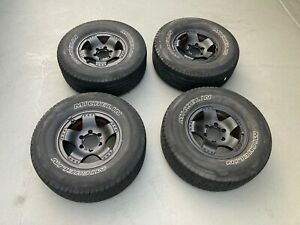 Set Of 4 Michelin Tires 265 70 16 Wheels Genuine Toyota Sequoia Rims Nuts