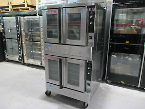 2013 Blodgett Zephaire 200 g Natural Gas Full Size Bakery Depth Convection Oven