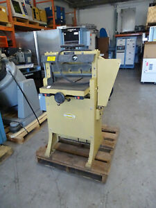 Challenge 193 Hae 19 Hydraulic Paper Cutter 208v 10a 3ph