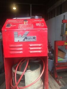 White Industries Ac Refrigerant Recovery Recycling Center Evacuation Machine