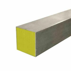 316 Stainless Steel Square Bar 2 5 X 2 5 X 12 Cold Finished