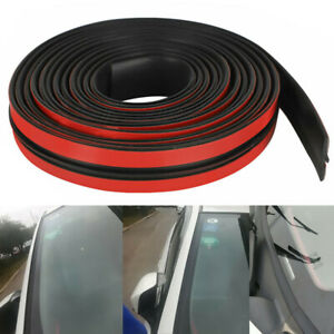 Rubber Seal Trim Prevent Water Leakage Windshield Sunroof Roof Top Window 10ft