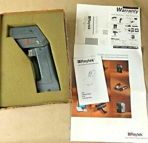 Raytek Raynger St2l Infrared Thermometer Touchless W Box And Operating Manual