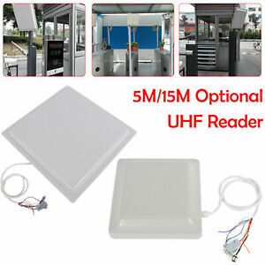 5 15m Passive Tag Integrated Long Range Rfid Reader Rs232 rs485 wiegand To Read