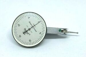 Brown Sharpe 7031 3 Jeweled Dial Double Range Test Indicator