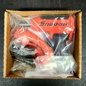 New Snap On Red 1 2 Drive Air Impact Wrench With Flip Socket Set