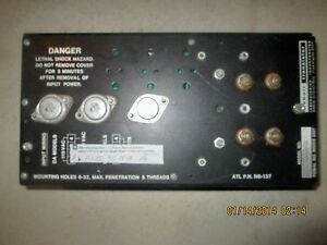 Abbott Military Style Power Supply Da100 15 For Parts Or Repair