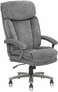 Clatina Ergonomic Big And Tall Executive Office Chair With Upholstered Swivel 40