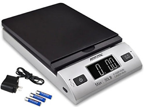Digital Postal Shipping Scale 50lb Battery Ac Adapter Tare Function Usps Fedex