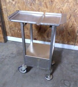 M E Deli Pro Pre Weight Scale Stand Stainless Steel Table