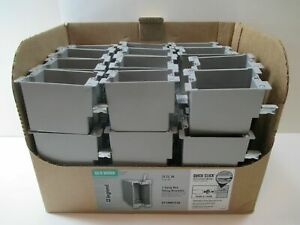 36 Pack Legrand slater 1 gang 18 Cu In Old Work Electrical Switch Outlet Box