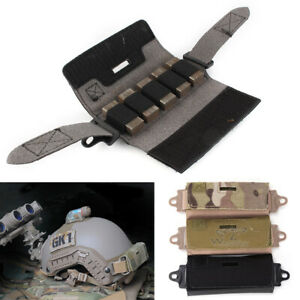 Nylon Helmet Rail Counter Weight Bag Pouch Accessories Fit OPS FAST BJ PJ MH $27.98