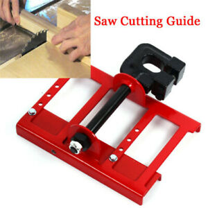 Metal Lumber Cutting Guide Timber Chainsaw Attachment Saw Mill Wood Cut Tool Red