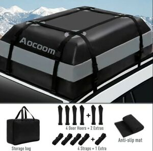 Universal Car Top Roof Bag Suv Truck Luggage Carrier Cargo Waterproof Holder New
