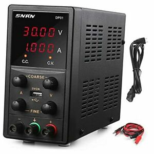 Dc Power Supply Variable 30v 5a Bench Linear Power Supply With 5v 2a Usb