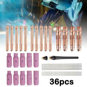 Torch Parts Tig Wear Wp Accessories Consumables Equipment For Welding Gas